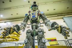 Fedor, el primer robot humanoide ruso.
