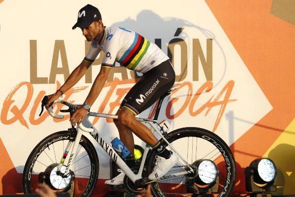 GRAF9479. MORAIRA (ALICANTE).- El ciclista español del Movistar...