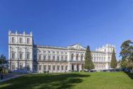 Palacio de Ajuda, cuya fachada es una joya neoclásica portuguesa