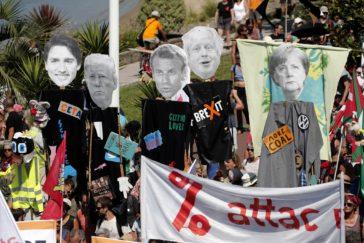 Una marcha multitudinaria  exige cambios en la política europea sobre  inmigración
