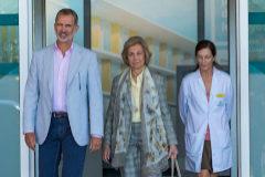 """Los médicos implantan tres bypass a Don Juan Carlos en una operación """"sin incidencias"""""""