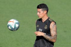 James, novedad en el once del Real Madrid ante el Valladolid
