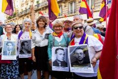 El Gobierno se suma al homenaje a  españoles republicanos...