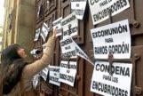 Protesta el pasado diciembre en Astorga (León) para pedir la excomunión del sacerdote José Manuel Ramos Gordón, condenado por abusos a menores.