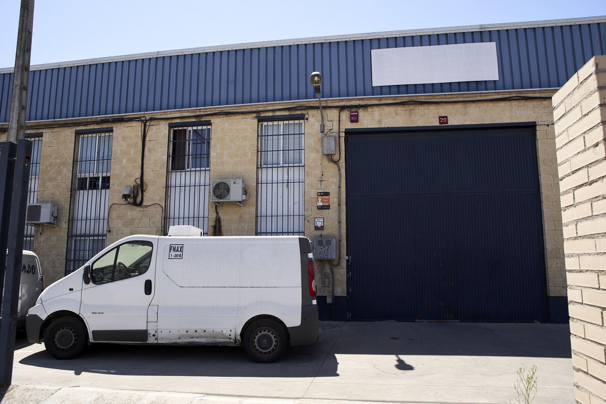Imagen de la fachada de la empresa Magrudis donde se ha originado el...