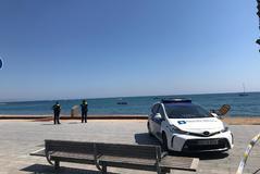 Desalojan una playa de Barcelona por la presencia de un explosivo en el mar