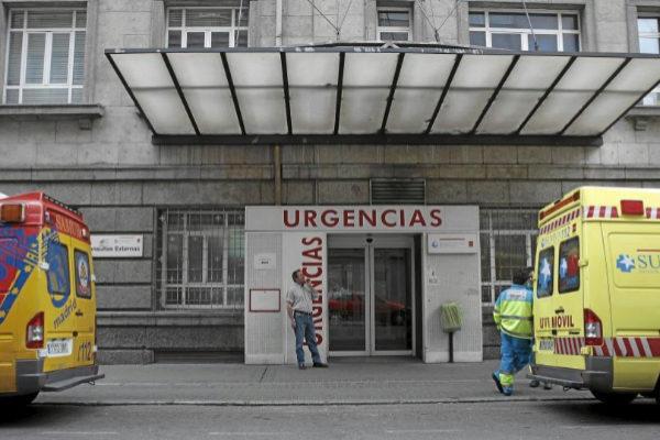 Entrada de Urgencias de La Princesa.