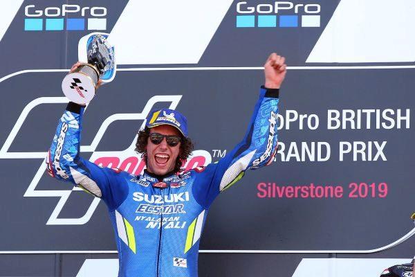 Northampton (United Kingdom).- Spanish MotoGP rider Alex...