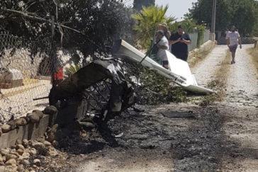 Siete muertos, entre ellos dos menores, tras chocar en el aire un helicóptero y una avioneta