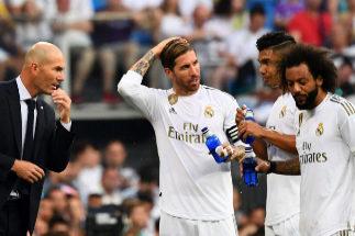 """El enfado de Zidane: """"Teníamos que haber mandado el balón a tomar por saco"""""""