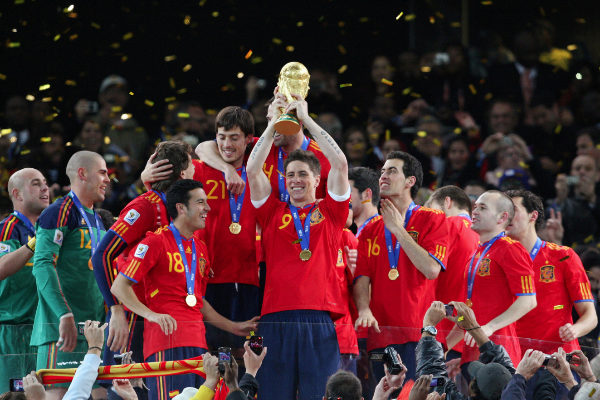 FILE PHOTO: Football - Netherlands v Spain FIFA World Cup Final -...