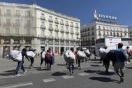 Las calles donde se va a perseguir a los 'manteros' en Madrid