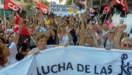 Pocos sectores habían recibido hasta ahora tanto apoyo social en la isla de Ibiza como el que han recibido las 'kellys' este fin de semana.