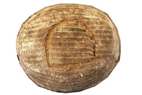 La hogaza obtenida con la antigua receta egipcia