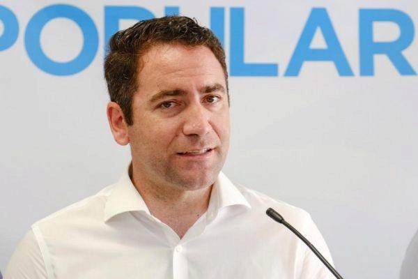 El secretario general nacional del Partido Popular, Teodoro García...