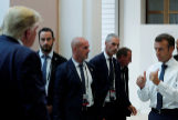 """Macron ve """"las condiciones"""" para una """"cumbre y un acuerdo"""" entre Trump y Rohani"""