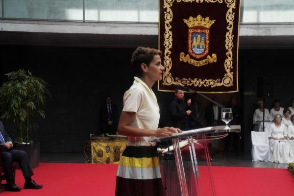 La presidenta del Parlamento navarro, María Chivite.