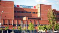 Fachada del hospital Severo Ochoa en Leganés