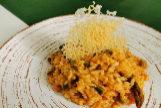 Cocina fácil: risotto de pulpo, trigueros y gambas