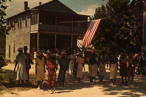 Celebración del 4 de julio en Saint Helena.