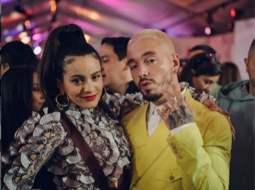 Rosalía and J  Balvin take the MTV to the best Latin music