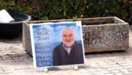 Tumba donde descansan los restos del enterrador del cementerio de Manacor, Sion Martí, fallecido en 2017.