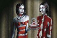 Detalle de la portada de 'La chica que vivió dos veces', de David Lagercrantz.
