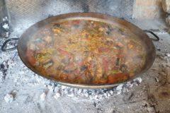 Paella cocinada en Valencia según una receta de 1858.