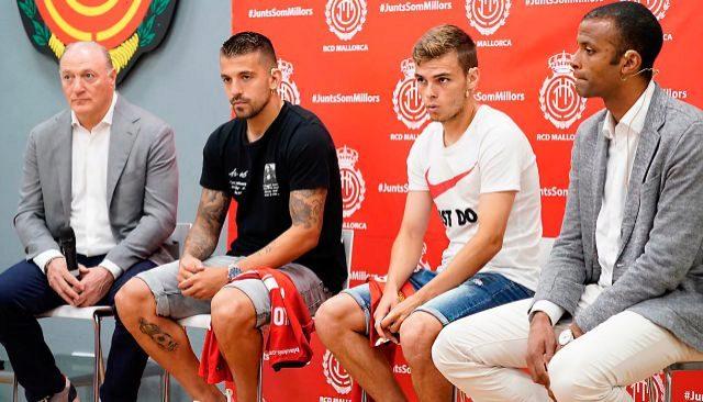 Andy Kohlberg, Trajkovski, Febas y Maheta Molango.