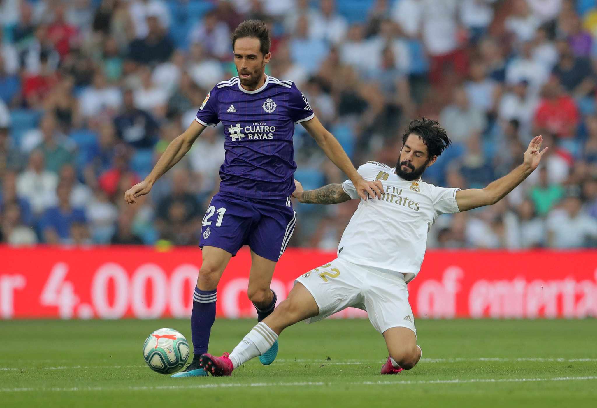 La Liga Santander - Real Madrid v Real Valladolid