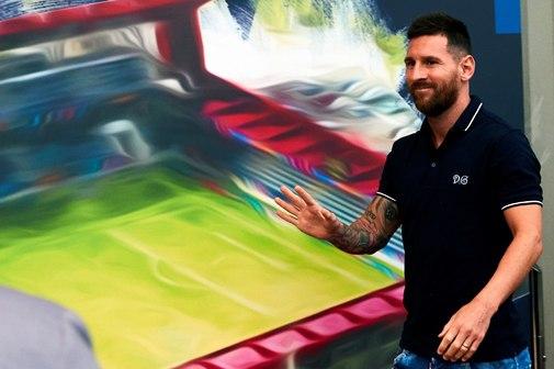 GRAF2153. BARCELONA.- El argentino Leo <HIT>Messi</HIT> asiste a la...