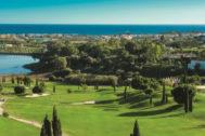 Uno de los campos de golf del complejo Villa Padierna en Marbella.