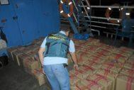 Imagen de archivo de una incautación de droga de la Guardia Civil.