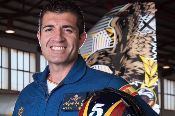 El comandante Francisco Marín Núñez, fallecido en accidente aéreo.