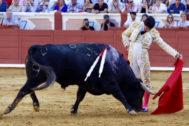 Sevillanía a pies juntos de Pablo Aguado, este miércoles en Cuenca.