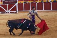 Antonio Linares deja el triunfo en casa