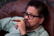 Iván Márquez, ex número dos de las FARC, en una imagen de archivo de 2016