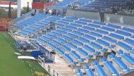 El aspecto del renovado Estadi Balear.