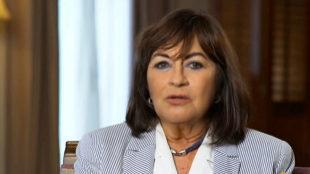 Vicky Flores en un fotograma del programa 'Lazos de sangre' de RTVE