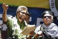 Captura del vídeo en el que Iván Márquez anuncia  que regresa a la guerra.