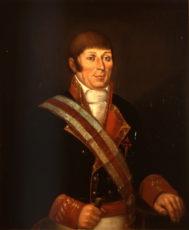 Retrato conservado del navegante Francisco Mourelle de la Rúa (1750-1820).