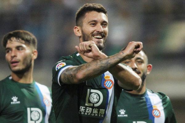Zaporizhia (Ukraine).- Facundo Ferreyra (C) of <HIT>Espanyol</HIT>...