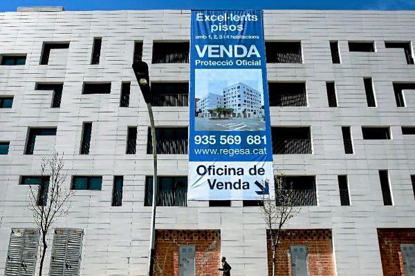 Viviendas sociales de la inmobiliaria pública Regesa.
