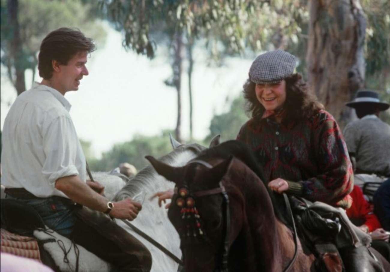 La Infanta Elena y yo compartíamos nuestra pasión por los caballos