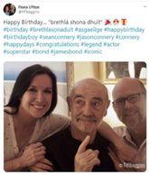 El primer agente 007, Sean Connery ha celebrado su 89 cumpleaños...