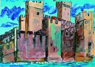 Una de las ilustraciones de Dario Fo incluidas en 'Barbarroja y la burla de Alessandria'.