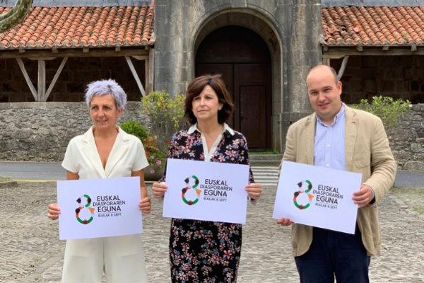 Presentación de la segunda edición del Día de la Diáspora Vasca que tendrá lugar en Ispaster.