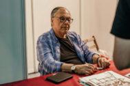 Howard Chaykin, en la  Metrópoli Comic Con de Gijón.
