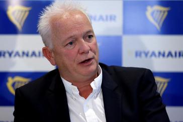 El director de RRHH de Ryanair, Eddie Wilson, releva al polémico O'Leary como consejero delegado