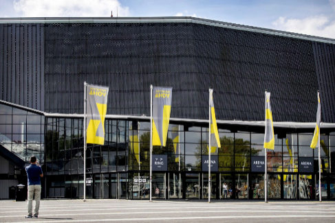 Pabellón donde se llevará a cabo el proximo festival de Eurovisión